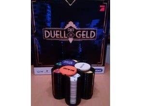 Duell um die Geld - Chip Holder - Poker