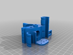 Prusa Style X Ends and Action68 style 1(almost) piece extruder