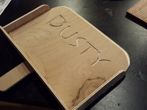 Plywood Dust Pan