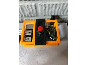 Raspberry Pi Bumper Button Holder