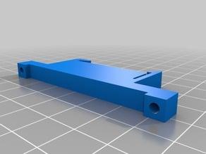 PCB DIN rail mounting clip