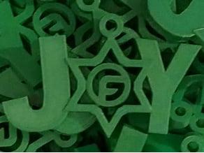 Logo Joy ornament