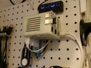 PegbBoard Raspberry Pi Rack