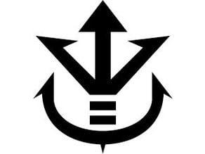 Prince Vegeta Chest Logo