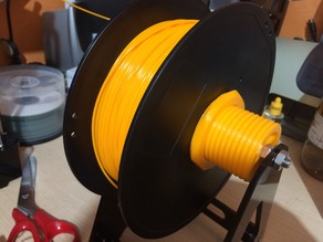 spool holder and filament guide