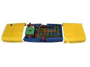Electric Skateboard Battery and Electronics holder  for Electric Bubblegum Skateboard