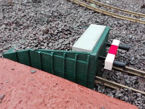 Railway Buffer Stop for ( LGB, llm, 1:22 )