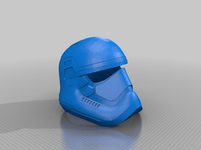 Star Wars Episode 7 First Order Helmet (wearable)