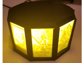 Star Wars Poster Lithopane Lamp