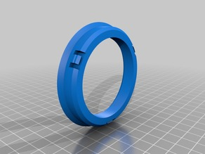 Wheel Hub Centric Ring 68mm -> 54.1mm (i.e. RONAL->TOYOTA)