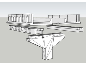 Highway Overpass Table TopTerrain