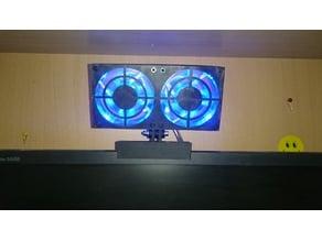 Monitor-mounted Colling Fan