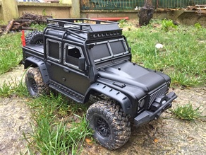 Armor for TRX4 Defender type L.A.V (RC GANG 93)