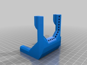 Fan Duct for Anycubic i3 Mega with V6 Hotend and Sensor Holder