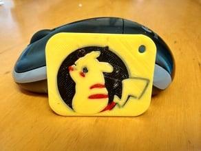 Pikachu 3 colors keyring