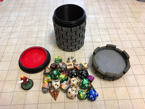 Multipurpose D&D Dice Container