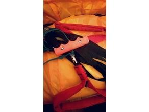 Paraglider brake handle