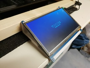 "7"" Touchdisplay Stand Waveshare with On/Off switch"
