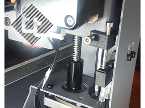 Adjustable Z end stop - CCT / Wanhao Di3 Plus / Monoprice Maker Select