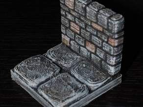 OpenForge Stone Dungeon Walls