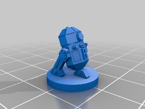 Star Wars RPG P3-N15 Droid Miniature