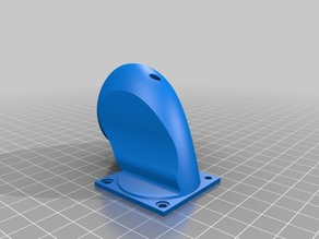 Inlet air duct for Extruder fan MK3