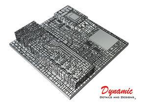 Death Star Surface Tile 01B