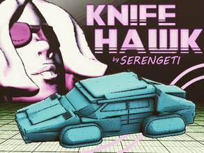 Serengeti KNIFEHAWK (80's Hovercar in 18mm scale)