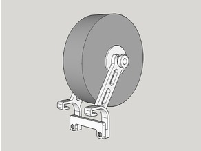 Improved M3D Micro Filament Spool Holder