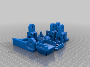 1 Print of Articulating Raspberry Pi Camera Mount