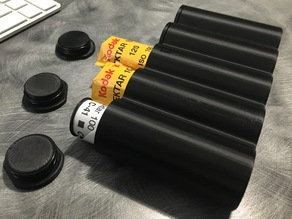 5 Roll 120 Film Canister