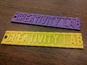 Creativity Lab Keychain