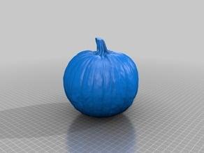 Pumpkin 3D Scan