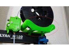 Filament spool holder (Dévidoir pour Malyan m150)