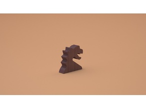 Game Meeple dragon piece