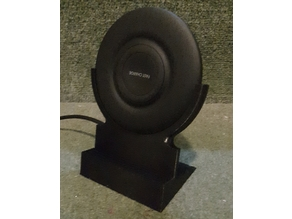 QI wireless stand (Samsung EP-P3100) for phone