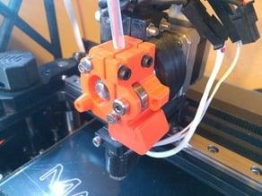 Makergear M2 V4 Hotend Easy Access Filament Drive Version 2