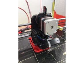 Prusa i3 MK3 R3 X-Carriage with Titan Extruder (MK3, MK2s)