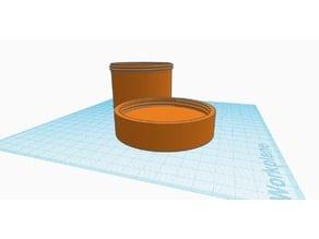 Container with screw cap