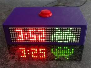Space Invaders Clock