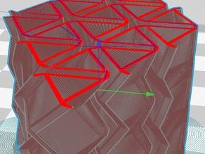 Tessellating Triangle 3D Elastic Damper