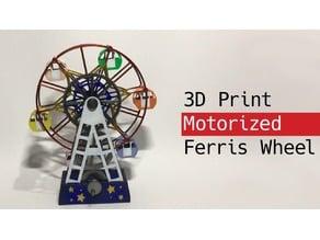 Motorized Ferris Wheel