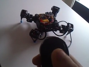 18DOF Hexapod To 12DOF Quadruped modifications