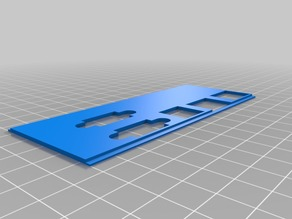 My Customized OScad ATX ioShield 3