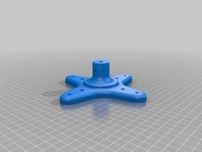 Plastic Roll PRUSA i3 Support / Soporte rollo PRUSA i3