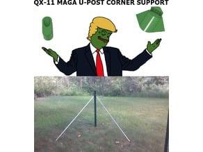 QX11 MAGA U-POST SUPPORT