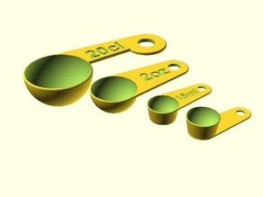 Yet Another Parametric Measuring Cups