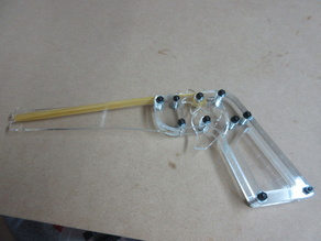 Acrylic Rubber Band Gun TYPE B