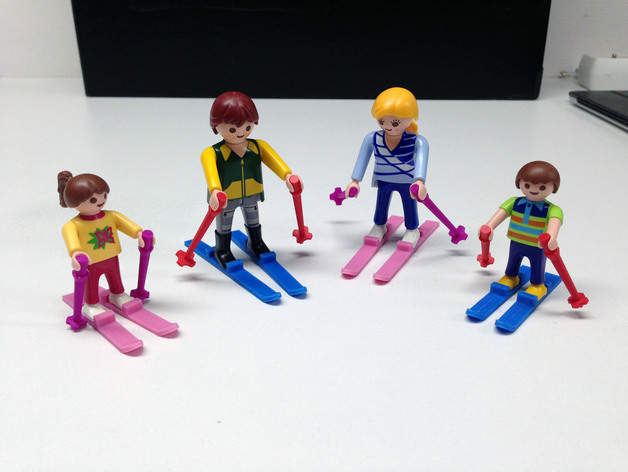 thingiview - Playmobil Ski