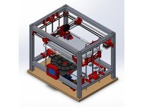 HyperCube 3D printer (2525 Aluminum)